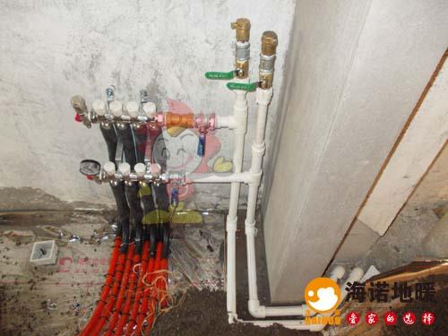 中信珺台海诺地暖分水器效果
