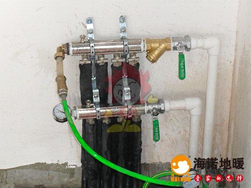南开区红旗欣苑海诺地暖分水器效果