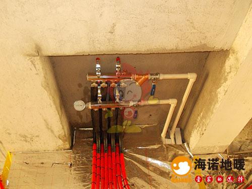 宝坻京津新城海诺别墅地暖分水器效果