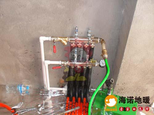 同安里海诺地暖分水器效果