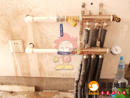西青华亭国际海诺地暖分水器效果