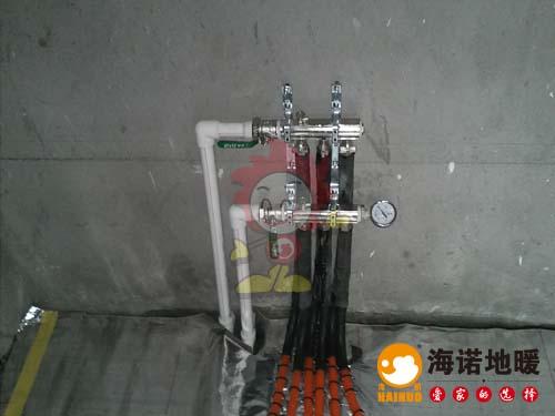 学者公寓海诺地暖分水器效果