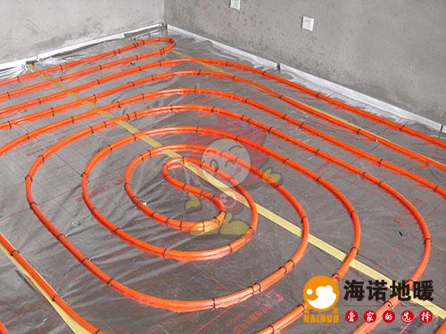 河西尚景园海诺地暖安装效果2