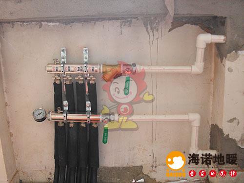 南开欣苑公寓海诺地暖分水器效果