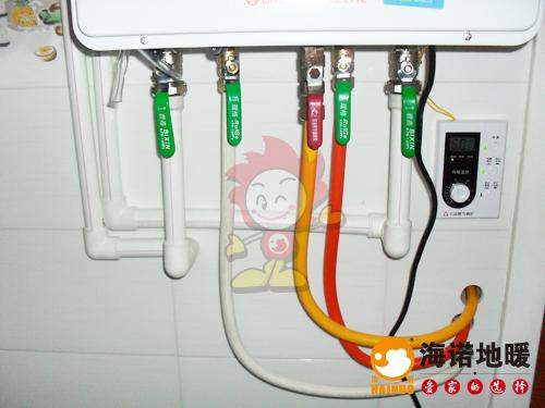 南开区华苑新城云华里海诺地暖壁挂炉效果1