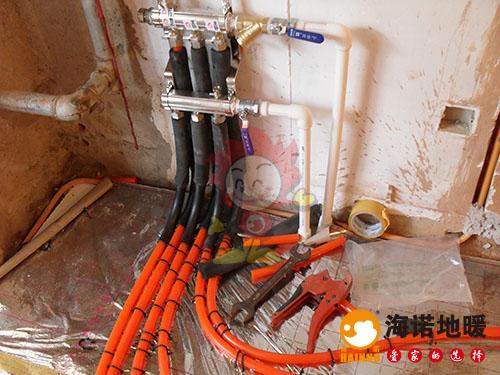 南开保山北里海诺地暖分水器效果1