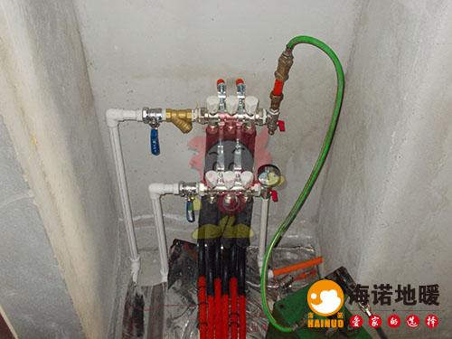 大港福汇园海诺地暖分水器效果