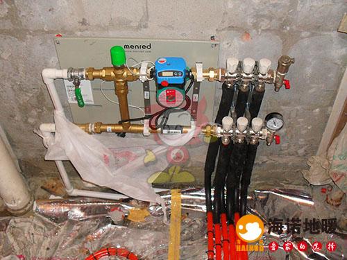 和平惠安公寓海诺地暖分水器效果