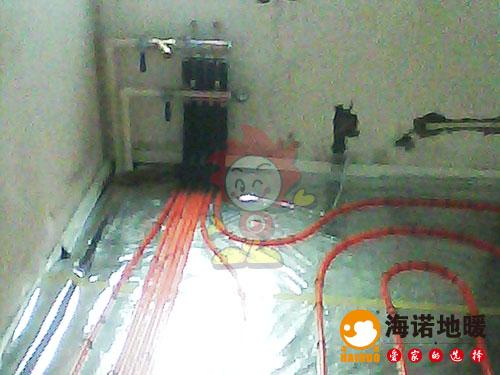 红桥丁字沽新基业大厦海诺地暖分水器效果
