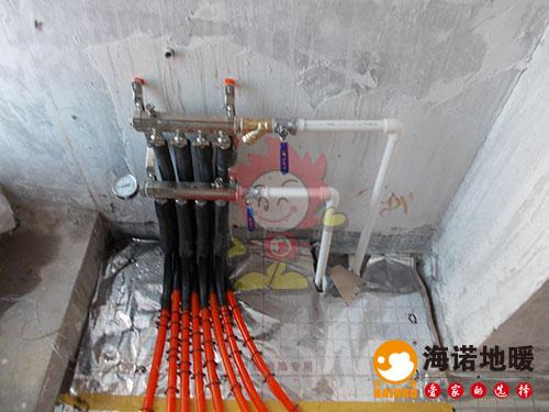 河西福熙园海诺地暖分水器效果