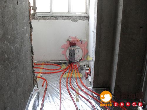 河东汇英公寓海诺地暖分水器效果