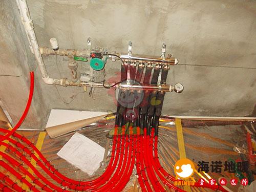 津南金地格林世界海诺地暖分水器效果