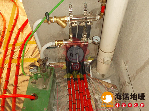 津南双港新家园新尚园海诺地暖分水器效果