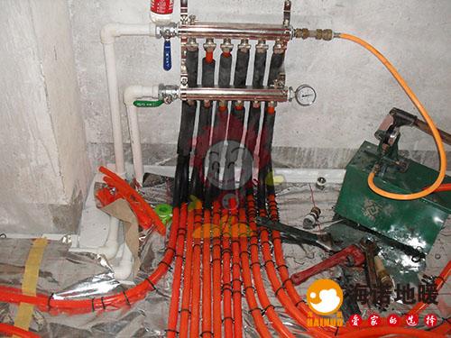 南开富康里海诺地暖分水器效果