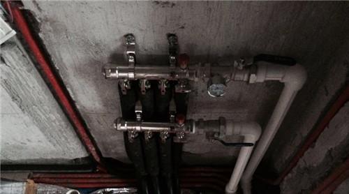 世茂尚苑海诺地暖分水器施工效果图