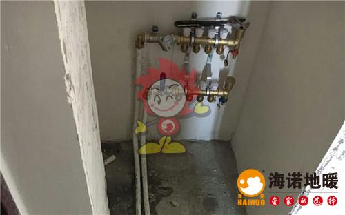 海颂园海诺地暖分水器施工效果图