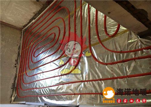 三水南里海诺地暖盘管施工效果图