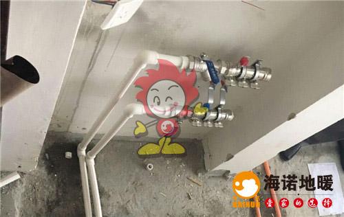 芳润轩海诺地暖分水器施工效果图