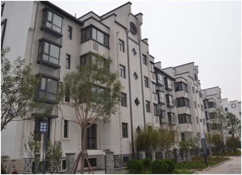 海诺地暖工程案例沽上江南项目图片