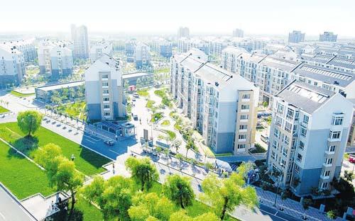 海诺地暖工程案例东丽华明示范镇项目图片