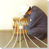 安装分集水器